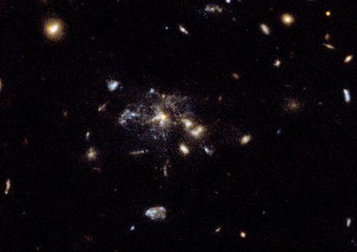 Galaxie de l'araignee