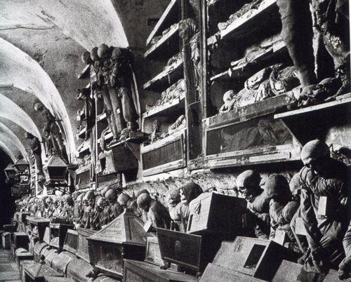 Catacombes capucins palerme
