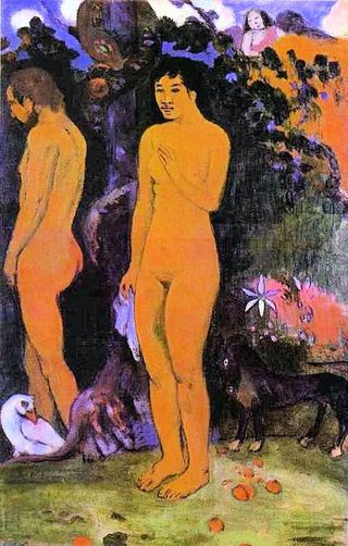 Paul-Gauguin-XX-Adam-and-Eve-1902