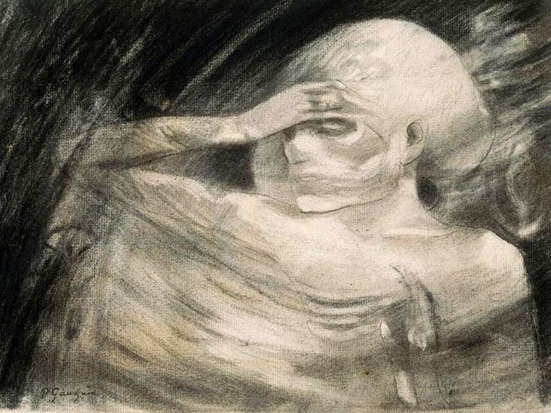 Mort-Madame la mort - Gauguin