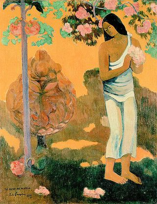 461px-Gauguin,_Paul_-_The_Month_of_Mary_(Te_avae_no_Maria)