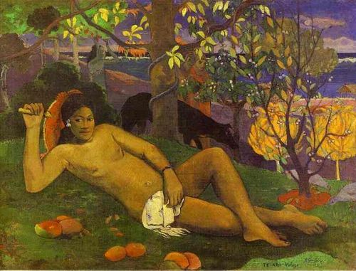 Gaugin_Te_arii_vahine_The_Kings_Wife_1896