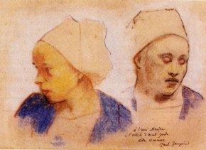 Gauguin_-_Deux_tetes_de_bretonne-54837-24791