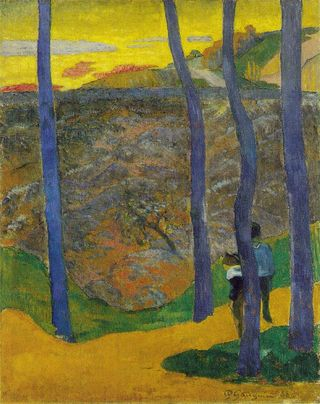 Gauguin_blue_trees