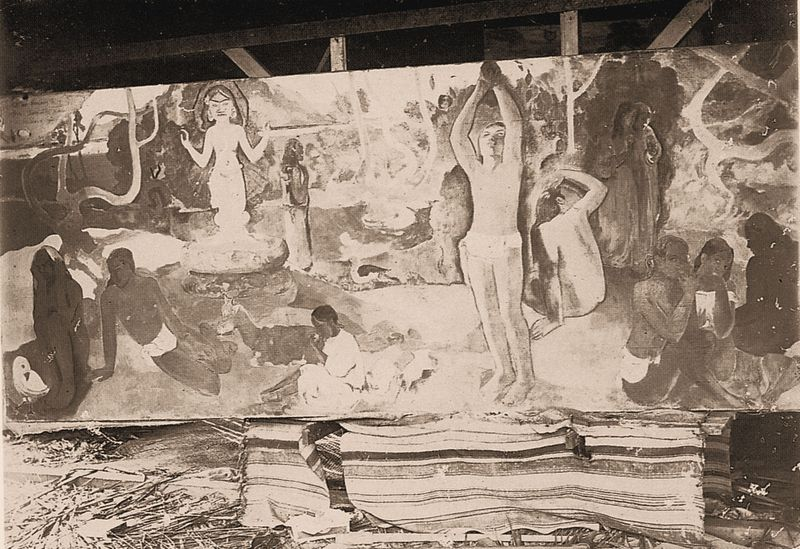 ATELIER GAUGUIN PHOTO H LEMASSON