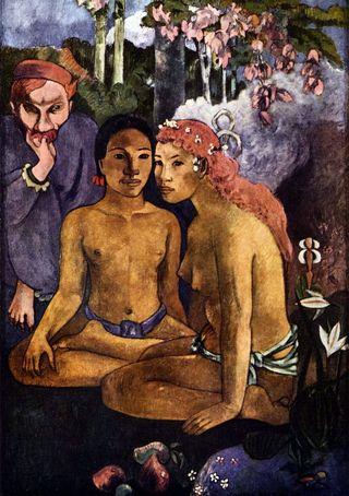 Paul_Gauguin, Contes barbares (Mahus de Polynésie)