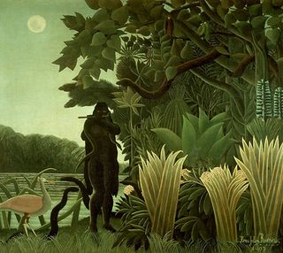 Jungle.DOUANIER ROUSSEAU