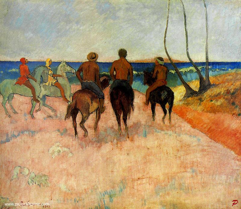 Gauguin_cavaliers_sur_la_plage_l