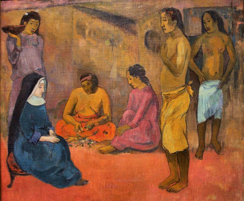Gauguin_La_Soeur_de_charité