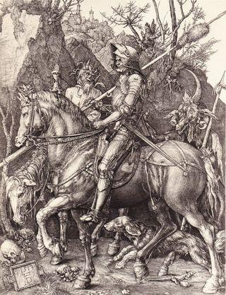Le-chevalier-la-mort-et-le-diable