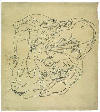 MASSON_Andre_Dessin_automatique_1924-25_encre_de_chine_sur_papier