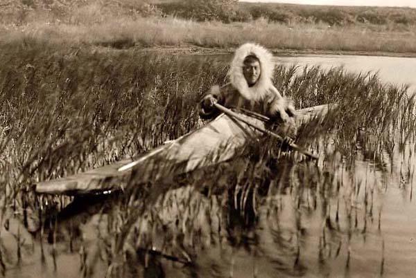Eskimo-Kayack