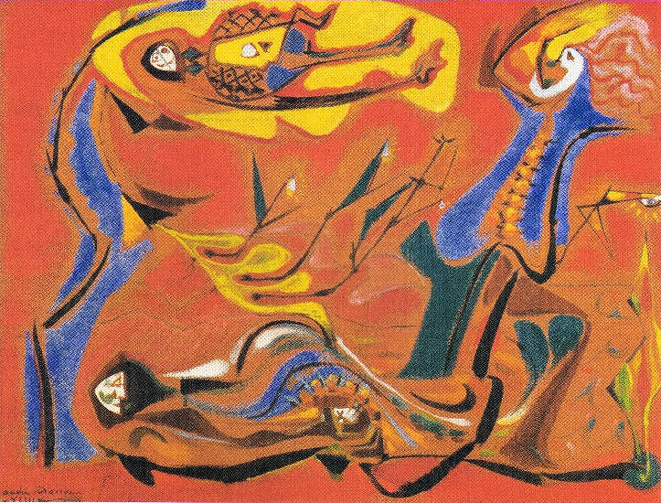 André Masson - the legend of corn (1943)