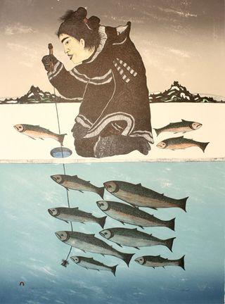 Les Inuits, la chasse et le végétarisme