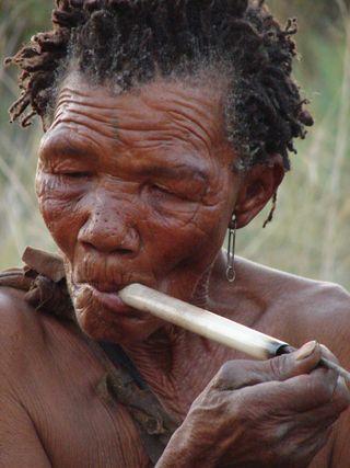 Day 45_ Meeting Bushmen at Ghanzi XXVI