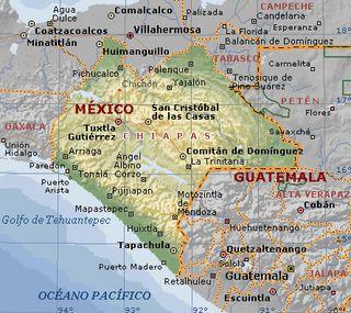 Carte_Physique_Chiapas