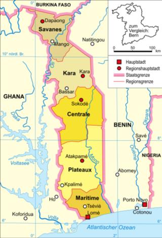330px-Togo-karte-politisch