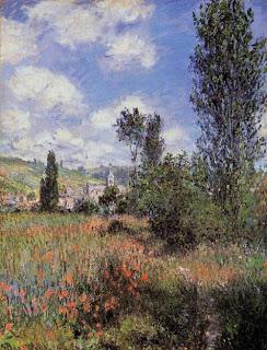 Proust Monet sortie dans les