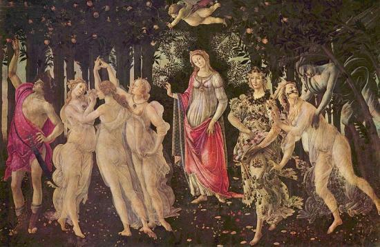Botticelli---Le-Printemps-1477-78