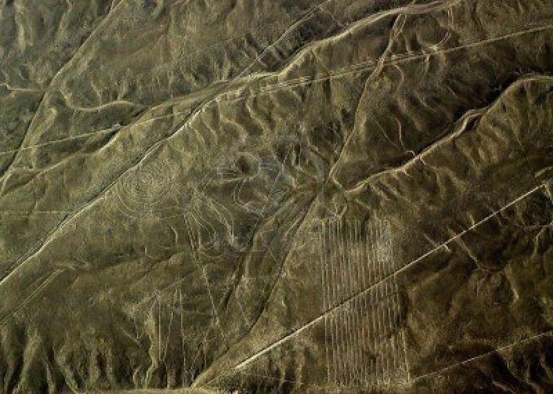 15145379-singe-les-lignes-de-nazca-sont-une-serie-de-geoglyphes-situe-dans-le-desert-de-nazca-perou