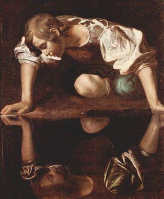Caravage-Narcisse