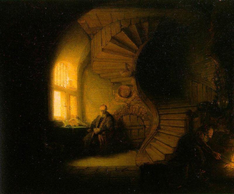 Rembrandtphilosopherinmeditation