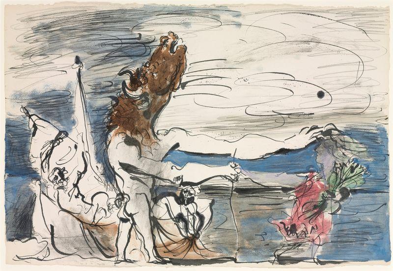 Picasso-Minotaure-aveugle-conduit-par-une-petite-fille-1934