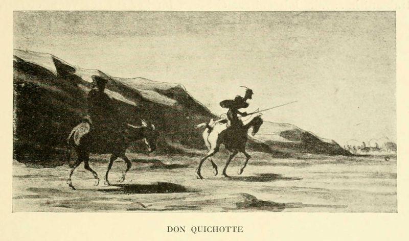 Don_quichotte_-_aquarelle