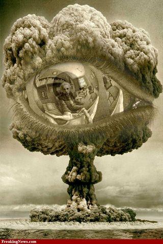 Einstein-in-Escher-Sphere-inside-Bomb-Cloud--87315