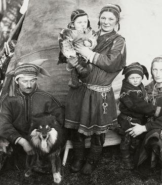 Sami_family_Finland_1936