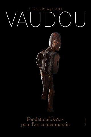 Sculpture vaudou affiche cartier