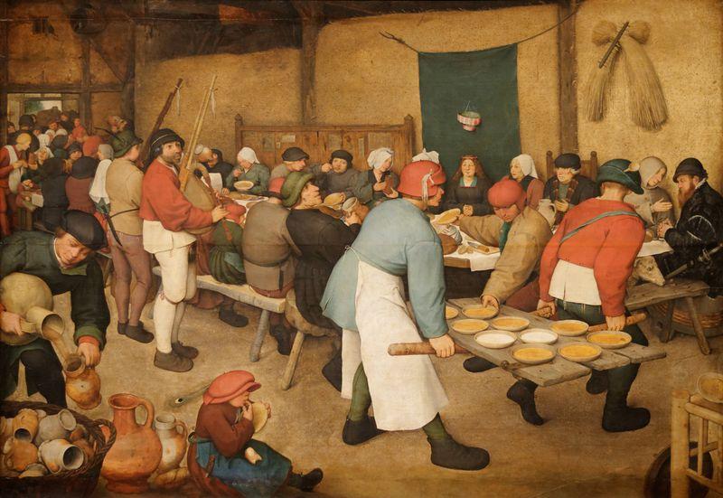 Le_repas_de_noce_Pieter_Brueghel_l'Ancien