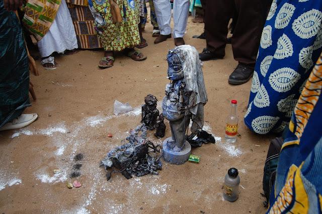 7 fete du vodoun Ouidah le fetiche est le vodoun