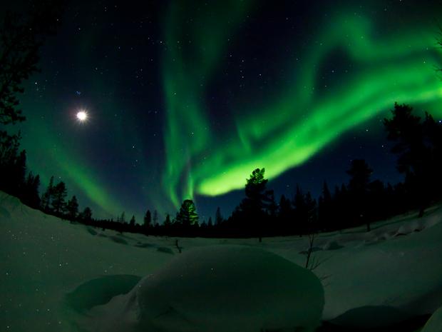 Aurore-boreale-laponie