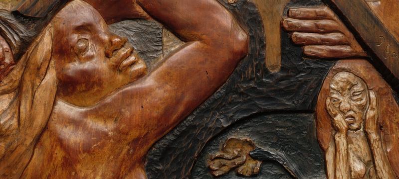 1889-Paul-Gauguin-Soyez-amoureuses-vous-serez-heureuses-Boston-Détail-1