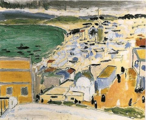 H_Matisse-Vue sur la baie de Tanger-1912-1