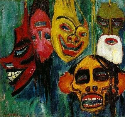 Emil-nolde-les-masques