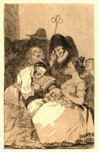 Goya, La filiation
