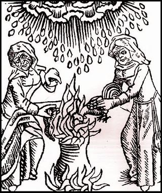 Witches at a Cauldron