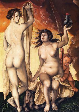 Hans_Baldung, deux sorcières, 1523 via wiki