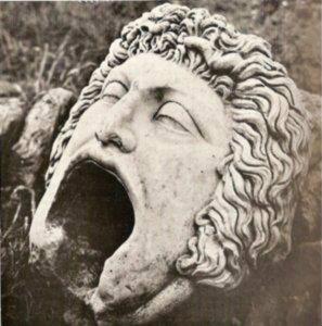 Masque-gorgone