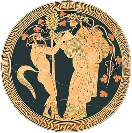 Dionysos-satyr