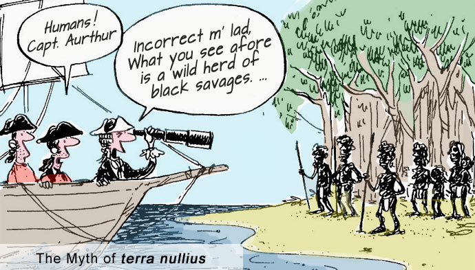 First-fleet-terra-nullius