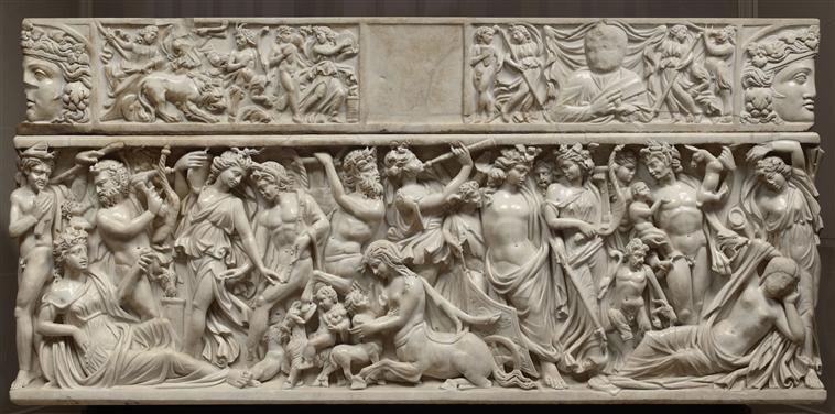 Dionysos-rencontre-Ariane-endormie.-Sarcophage-Vers-230-235-ap-J.-C.-Paris-musée-du-Louvre