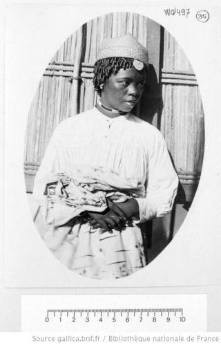 Femme Rabéhavana, 1898