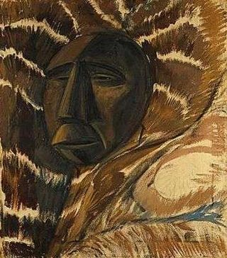 Erich-heckel-le-masque