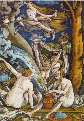 Hans baldung, sorcières, 1508 via wiki
