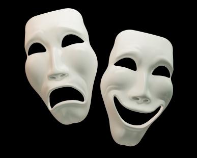 Comédie-tragédie-Les-masques