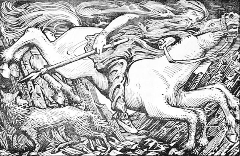 W_g_collingwood_1854_1932_odin_rides_to_hel_1908