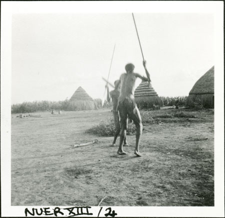 Nuer_men-duelling_-evans-pritchard_july-1935